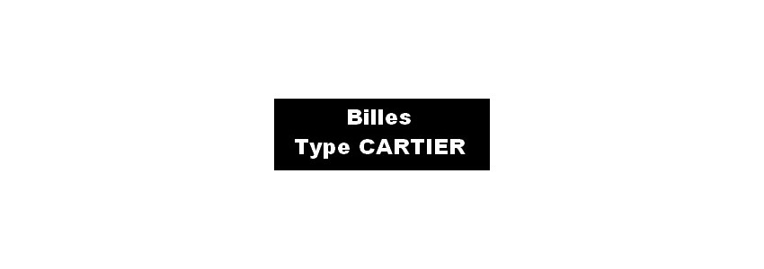 RECHARGES BILLE CARTIER