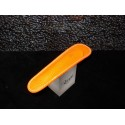 - 50% étui fourreau à stylo récife cuir riviéra orange